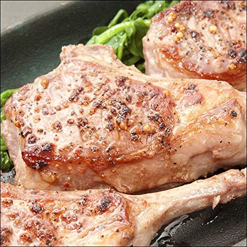 ラム肉 骨付きラム肉 ラムチョップ (18本入り/1200g/冷凍) 業務用 ラム肉チョップ 羊肉 BBQ 北海道