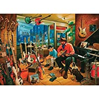 Crossroads Music Store, A 1000 Piece Jigsaw Puzzle by Cobble Hill by Cobble Hill