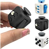 Fidget Cube with Silent Features,Comes in GIFT BAG with 2 FREE Fidget toys, Desk Toy Relieve Stress,Anxiety,Boredom. 6 Mechan