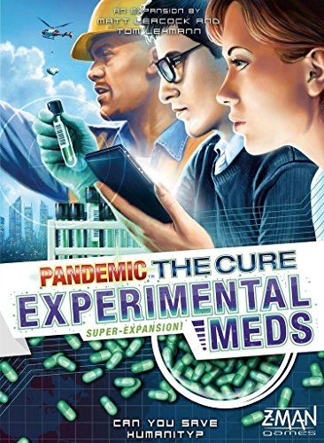 Pandemic The Cure Experimental Meds Super-Expansion Board Game [並行輸入品]