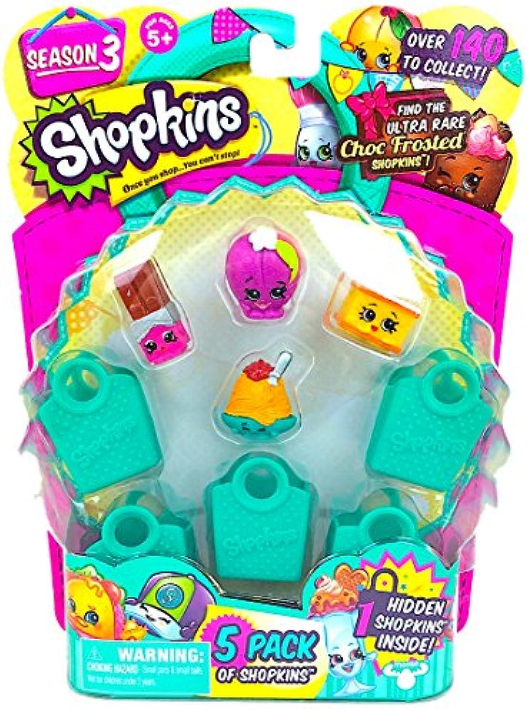 Shopkins Season 3 ( 5パック)セット6