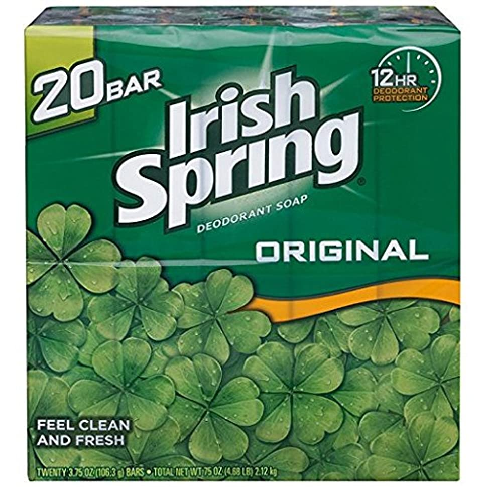 知らせる費用反対するIrish Spring アイリッシュスプリング オリジナル 固形石鹸 20個 海外直送