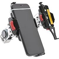 デイトナ バイク用 スマホホルダー ワイド クイック iPhone11/Pro/Pro Max/SE2(第二世代)対応…