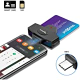 Type C XD Card Reader, Rocketek USB C 3.0 Memory Card Reader/Writer CF Card, xD Card, SD Card, Micro SD Card, MS Card & MS Mi