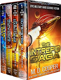The Complete Intrepid Saga - A Hard Science Fiction Space Opera Epic (Aeon 14 Collection Book 1) by [Cooper, M. D.]