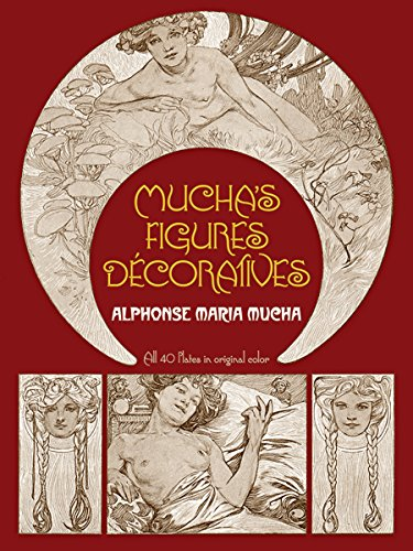 Mucha's Figures Décoratives (Dover Fine Art, History of Art)の詳細を見る