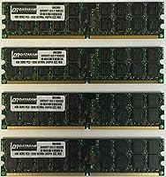 16GBキット( 4x 4GB )メモリfor Supermicro x7dcx