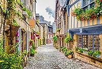 Leyiyi ヨーロッパ旅行写真背景 フランス パリ ロンドン イタリア ストリート ギリシャナプル 地中海小道具