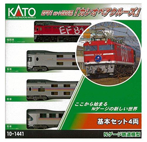 カトー EF81 95+E26系「カシオペアクルーズ」 基本セット(4...