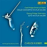 テレマン:ターフェルムジーク (食卓の音楽)、C.P.E.バッハ:チェロ協奏曲変ロ長調 他 (G.P.Telemann : Suite in B Flat Major, C.P.E.Bach : Cello Concerto in B Flat Ma