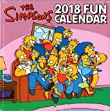 シンプソンズ 2018年 ミニ カレンダー 壁掛け TheSIMPSON バート ホーマー グッズ かわいい 可愛い 女の子 キャラクター お洒落 インテリア