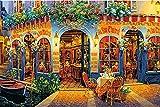 1000ピース ジグソーパズル ヴィクトル・シュヴァイコ レストラン シャブロ (50x75cm)