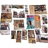 ゾンビ アポカリプス スクラップブック 18種入り ホームデコレーション用小物