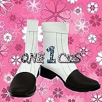 【サイズ選択可】コスプレ靴 ブーツ 12L0975 Starry☆Sky スタスカ 夜久月子 男性28CM