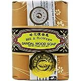 Bee & Flower - Chinese Sandalwood Soap 2.65oz - 12/case