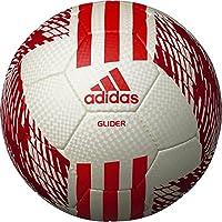 adidas(アディダス) サッカーボール スリーストライプス フットボール AF5642WR ホワイト×レッド