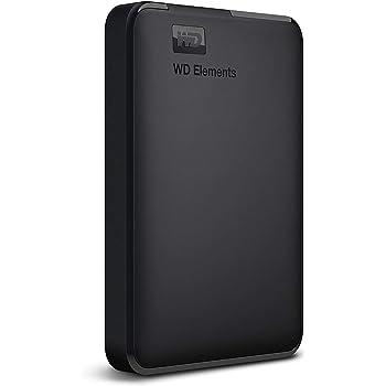 WD HDD ポータブルハードディスク 2TB WD Elements Portable WDBU6Y0020BBK-WESN USB3.0/2年保証
