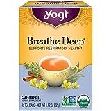 YOGI TEA Herbal Tea Bags Breathe Deep 16 Tea Bags