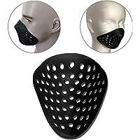 シェルマスク サバゲーマスク フェイスガード スポーツ ロードバイク シリコンマスク アンダーマスク シリコンマスクスパ…