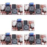 Aideepen 5個セット XL6009 DC-DC昇降圧コンバータ 3.8〜32V to 1.25〜35V昇降圧ボー…