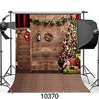 sjoloon 10x 10ftクリスマステーマPictorial布カスタマイズ写真バックドロップ背景Studioプロップjlt10370