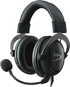 キングストン ゲーミング ヘッドセット HyperX Cloud II KHX-HSCP-GM ガンメタル/ブラック 7.1バーチャルサラウンドサウンド対応 USBオーディオコントロールボックス付属 2年保証