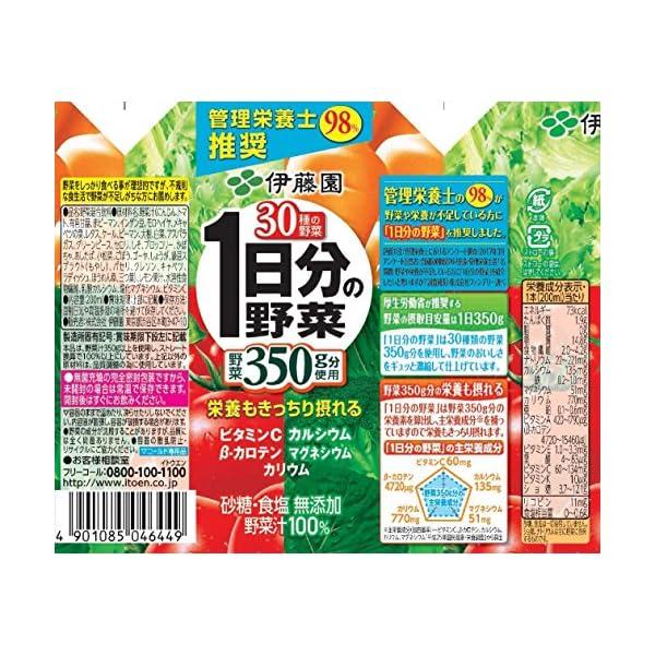 伊藤園 1日分の野菜の紹介画像4