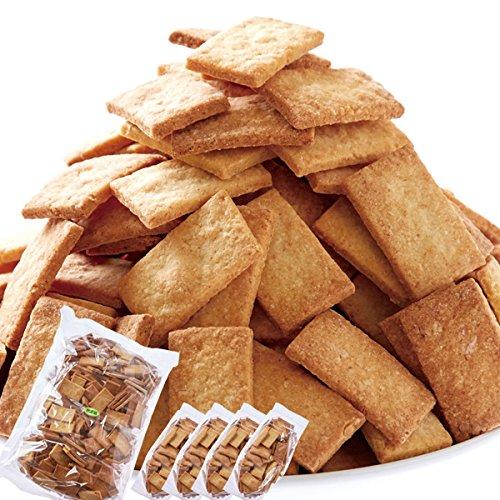すべての原料が自然由来。無添加【訳あり】豆乳おからマクロビプレーンクッキー1kg(250g×4袋入)Macrobiotic Sweets「マクロビオティック」