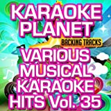 Various Musical Karaoke Hits, Vol. 35 (Karaoke Planet)