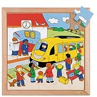 DLM 木製ジグソーパズル(駅) 522068