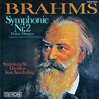 Brahms: Symphonie Nr. 2/Tragische Ouverture by Kurt Sanderling (2012-06-20)