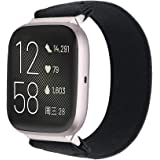 UooMoo Elastic Bands Compatible with Fitbit Versa/Fitbit Versa 2/Fitbit Versa Lite,Soft Single-Layer Stretch Strap Fit for 6-