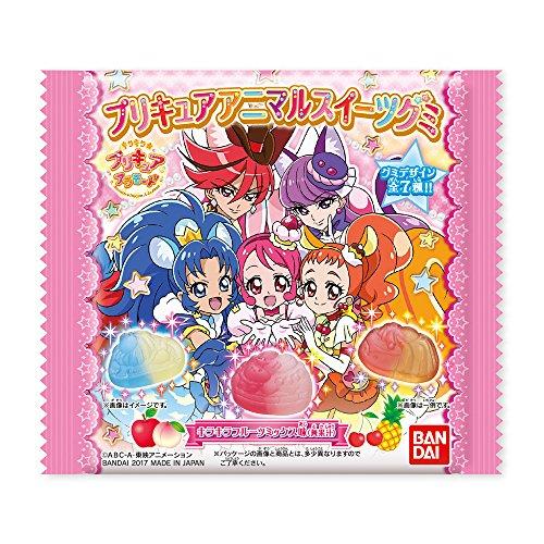 プリキュア アニマルスイーツグミ 14個入 食玩・キャンディー(キラキラ プリキュアアラモード)