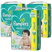 【ケース販売】 パンパース オムツ テープ さらさらケア M(6~11kg) 240枚  (80枚×...