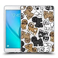 Head Case Designs チベタンテリア ドッグブリード・パターン 11 ソフトジェルケース Samsung Galaxy Tab A 9.7