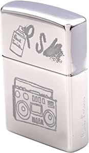 Paul Smith ポールスミス ライター 喫煙具 ロゴ zippo ジッポ 銀 シルバー シンプル ラジオ ステレオ タバコ 煙草 メンズ レディース ジッポー