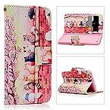 エルメス 財布 BestCool iPhone6(4.7インチ)/iPhone6S対応ケース おしゃれ 桜を見た猫 上絵 PUレザー 手帳型 カード入れ 財布カバー スタンド機能 耐衝撃 防塵 耐久性 装着やすい