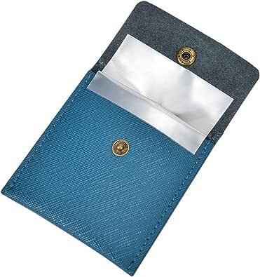 携帯灰皿 高級 PU革 ポータブル ポケット アウトドア おしゃれ メンズ 3色