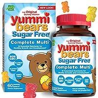海外直送品Multivitamins Sugar Free, 60 chew by Yummi Bears (Hero Nutritional Products)