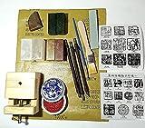 PEGAZOU(ペガ蔵) 自分だけの印を作ろう 篆刻 テン刻 初心者スタートセット 豪華17点