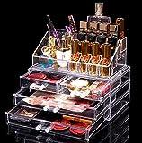 OBOR(オビオア) 化粧品 収納 コスメ収納 メイクケース コスメ収納スタンド コスメ収納ボックス 引き出し小物/化粧品入れ レディース