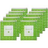 【日本製】旅行 出張 に便利な 衣類 圧縮袋 リムーブエアー ●特許製法 逆止弁 使用● Mサイズ 10枚セット