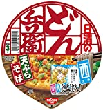 日清のどん兵衛 天ぷらそば 食べ比べ西 100g