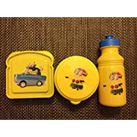 Despicable Me Minions BPA Free Sandwich Container, Snack Container and Pull-top Bottle by Zak! KIDZ