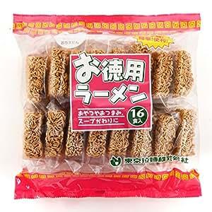 【東京拉麺】お徳用 ラーメン 16食入パック 詰め合わせ 1箱4入