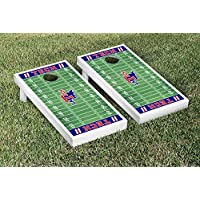 Louisiana Tech Bulldogs regulation Cornhole Game Setフットボールフィールドバージョン
