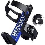 RUNACC Adjustable Bike Bicycle MTB Water Bottle Holder Rack Cage Black