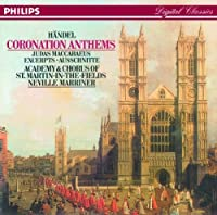 Handel;Coronation Anthems