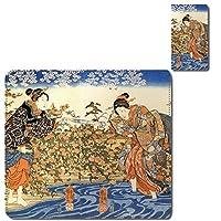 cronos AQUOS BASIO2 SHV36 au カバー ケース 江戸文化 古典芸能 風俗