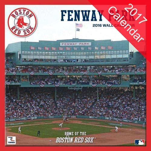 Boston Red Sox Fenway Park 2017 Calendar